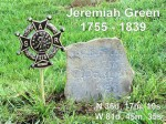 Jeremiah Green Grave Marking, Sugar Grove, NC
