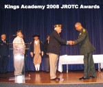 Cherokee Chapter JROTC Awards for 2008