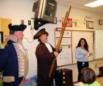 B. Franklin & G. Washington At Liberty Elementary