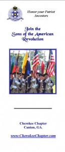 Cherokee Chapter Brochure