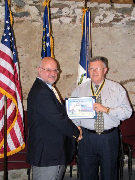 Cherokee Chapter Meeting September 2007