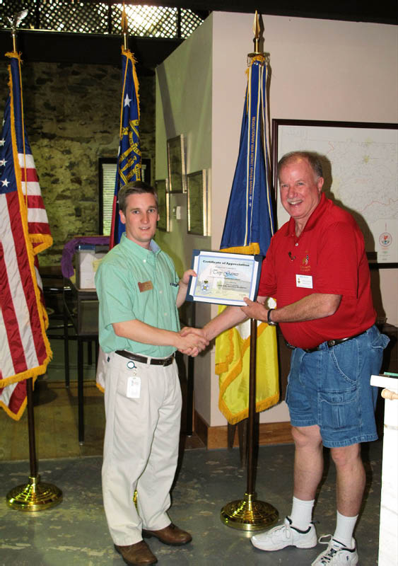 Cherokee Chapter Meeting, July 2010