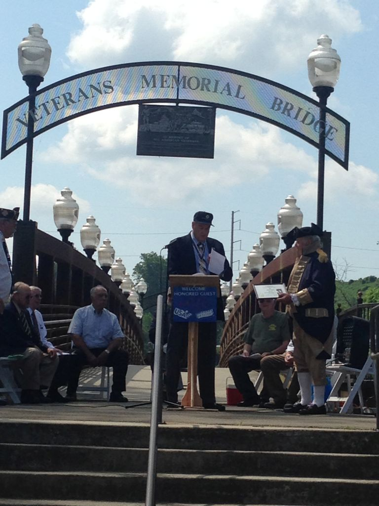 Compatriot Sandy Lyons honored at Memorial Day Event
