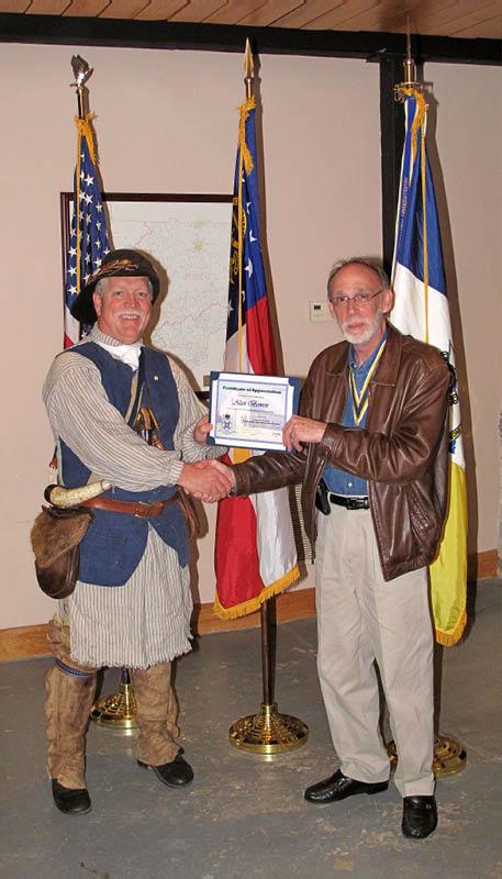 Cherokee Chapter Meeting, November 2009