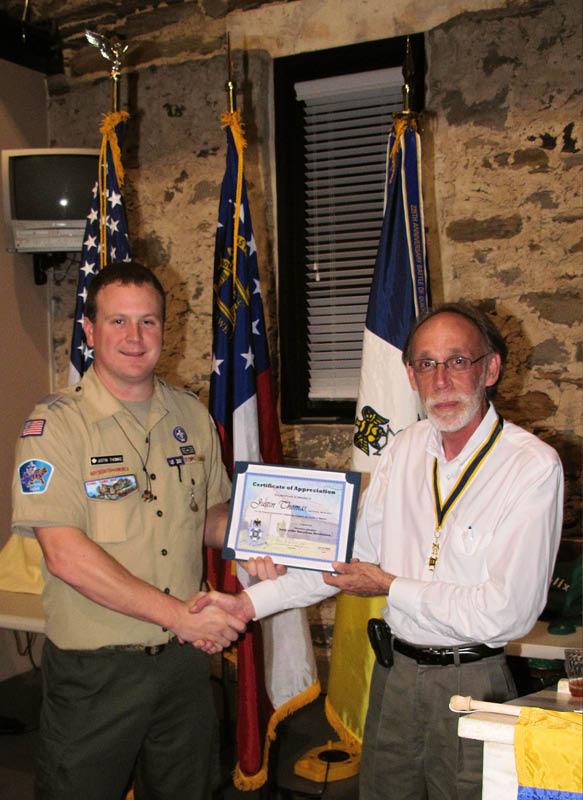 Cherokee Chapter Meeting, October 2009