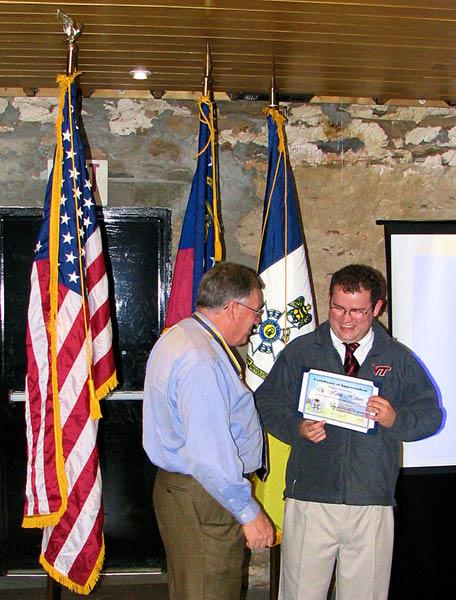 Cherokee Chapter Meeting, January 2008