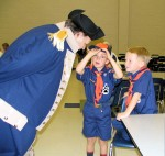 Boy Scout Pack 415 Learns About Revolutionary Ancestors