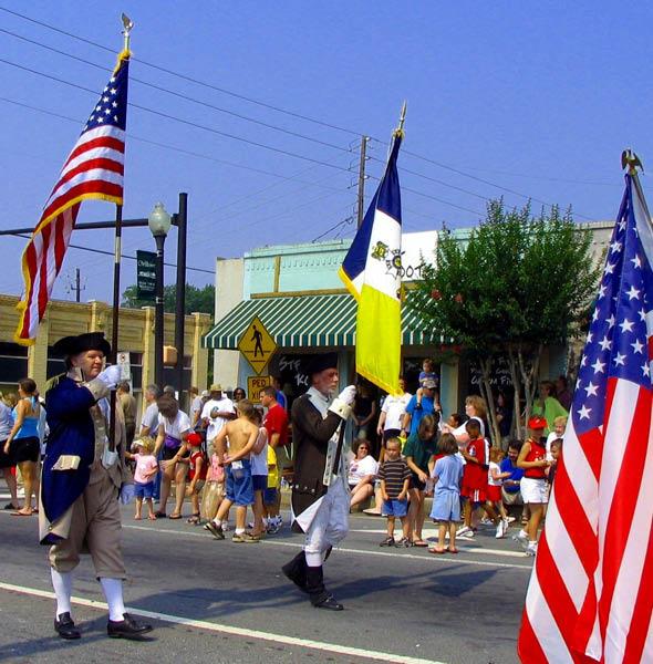 July 4, 2006, Parade in Woodstock, Georgia