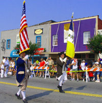 Provide Color Guard for Patriotic Events
