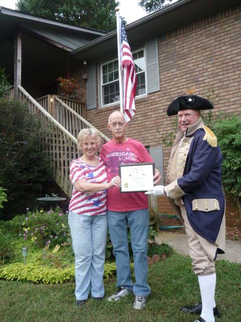Recognize Patriotic Displays of the American Flag