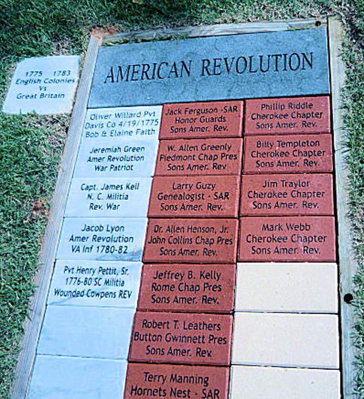 Veterans Memorial, Ellijay, GA, September 2011